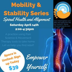 san-antonio-Pain-management-self-care-class-focusing-on-spinal-health-and-alignment
