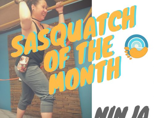 Meet our Sasquatch (Barefoot LMT) of the Month, Ninja!