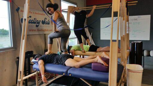 Massage at San Antonio Crossfit Competition
